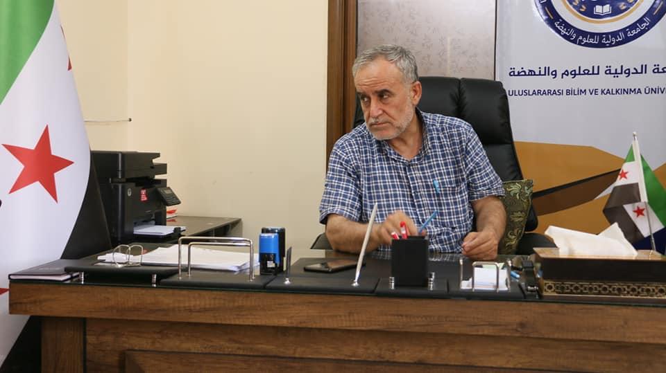 كلمة الدكتور مازن السعود رئيس الجامعة الدولية للعلوم والنهضة