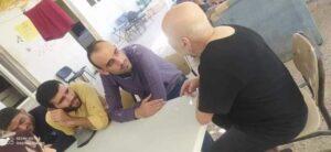 تدريب عملي لطلاب كلية العلوم النفسية من خلال زيارة مركز الأمراض العقلية بإشراف الدكتور محمد العمر